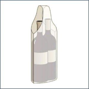 Bolsa Marmibax 2 botellas con un solo asa
