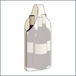 bolsas uniasa publi para 3 botellas