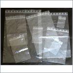bolsas con autociere clip transparente