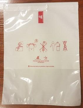 bolsa que resisten el vomito